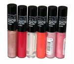 6 x Maybelline Color Show Lip Gloss  | RRP £54| 6 shades | Wholesale Cosmetics